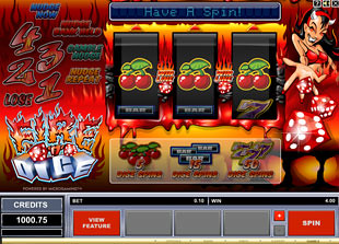 Fire n Dice slot game online review