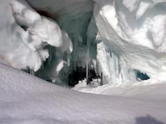 Crevasse (threejumps) Tags: mountain snow alps ice switzerland suisse swiss glacier icicle mountaineering zermatt crevasse swissalps alpinism