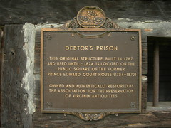 Debtor's Prison Historic Marker
