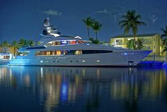 The Trouble (DEEPerrin) Tags: ocean longexposure travel cruise water night boat big ship yacht trouble palmtree yachts bahamas nassau cruse bahama charter yat caribean thetrouble