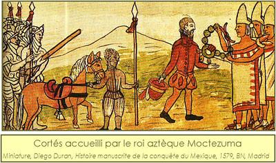 Histoire de la Vanille,Azteques