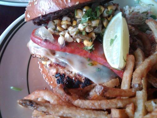 All Star Chile Relleno Burger