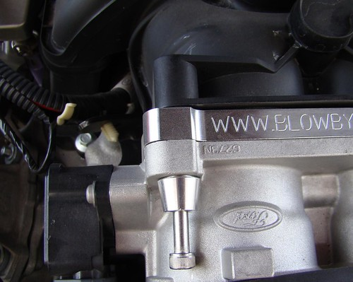 2010 Mustang GT - GT500 Throttle Body Install