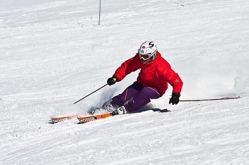 Slalom Training.
