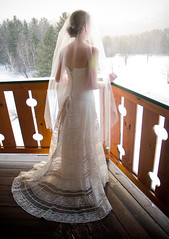 Snow Princess (richiebits) Tags: winter wedding snow bride snowprincess