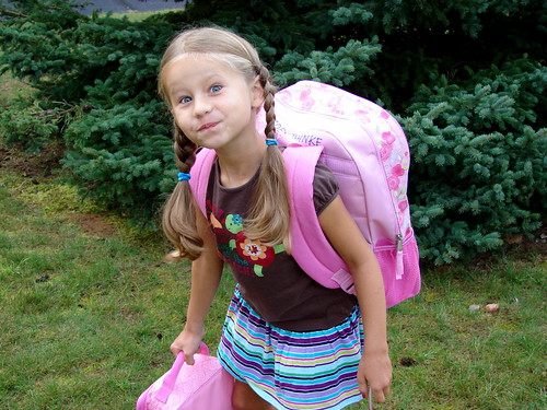 First Day of First Grade - 2010