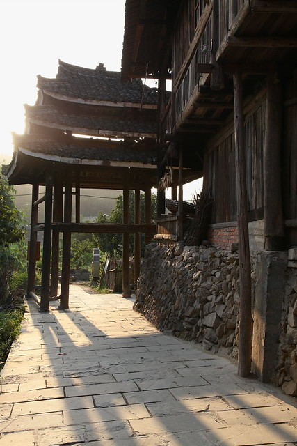 Chengyang in afternoon, Guangxi, China
