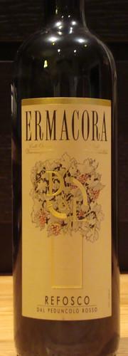 2008 Ermacora Refosco