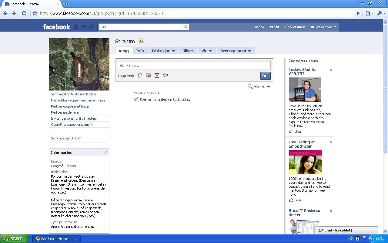 facebook gruppe strømm