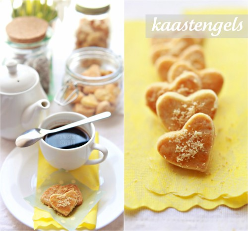 kaastengels (cheese cookies)