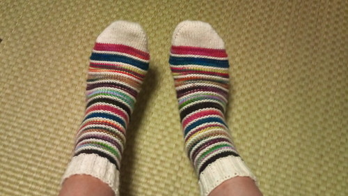 B.M.F.A. Stripe socks 2010-#20