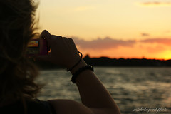 Best Friends <3 (Michele Ford) Tags: sunset sky water marina maritime belmar newjerseyusa