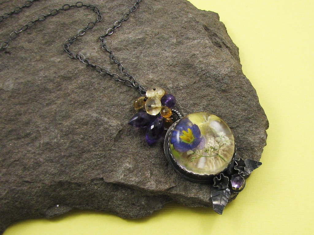 Resin Necklace
