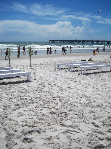 Jacksonville fl beach weddings