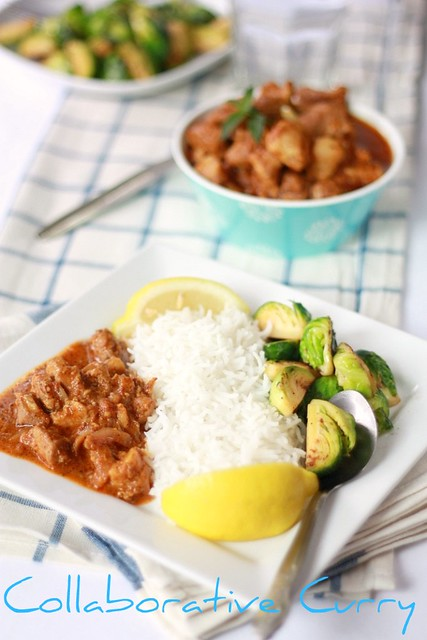 Varutharacha Pork Curry