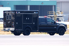 Secret Service Tactical Support Vehicle (planephotoman) Tags: cat media secretservice watchtower potus boeingfield motorcade theride sweepers seattlewa bfi tcat thepackage presidentialmotorcade chevroletsuburban rearguard supportvehicles ussecretservice armoreddivision presidentialprotection armoredlimo presidentialmovement tacticalcounterassaultteam counterassaultteam