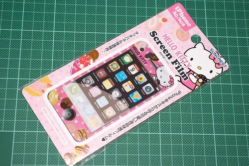Hello Kitty iPhone 保護膜