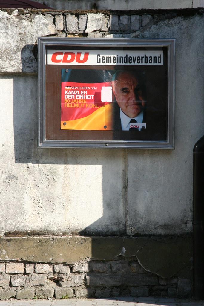 CDU-Biblis gratuliert Helmut Kohl