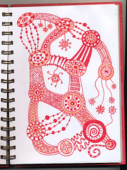 RJ p48 (dieverdog) Tags: art drawing doodles journalpages zentangles