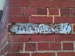 Twenty Eleven (Figgles1) Tags: graffiti fremantle eleven westernaustralia twenty iphone img0578 twentyeleven