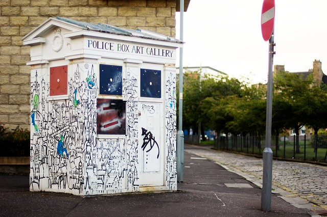 Police Box Art Gallery