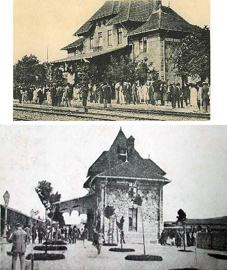 Gara din Valenii de Munte