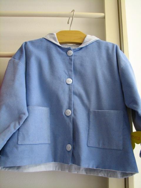 M.J. Blue jacket