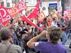 Manif contre la réforme des retraites (7 sept 2010) (tofz4u) Tags: paris demo flag protest demonstration manif drapeau défilé grève cfdt retraite 75011 vuvuzela sarkoland