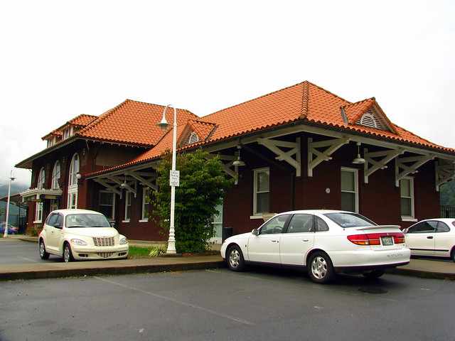 Erwin, TN Train Depot