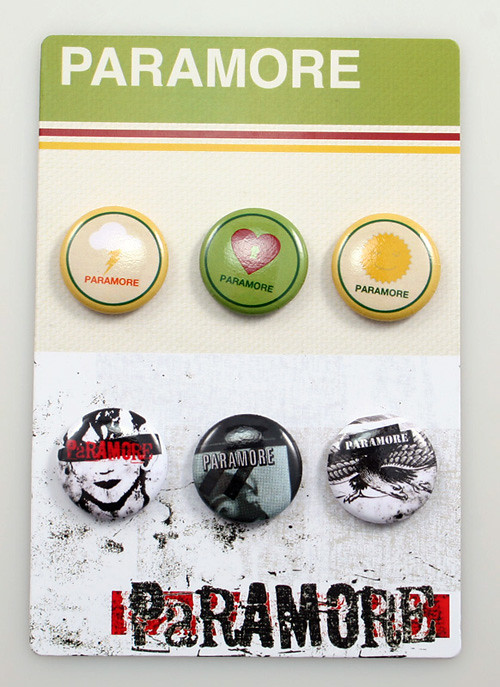 Paramore Buttons