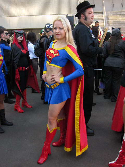 Supergirl at DragonCon 2010