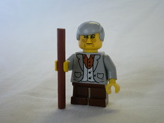 Lord of the Rings Custom Lego Old Bilbo Baggins