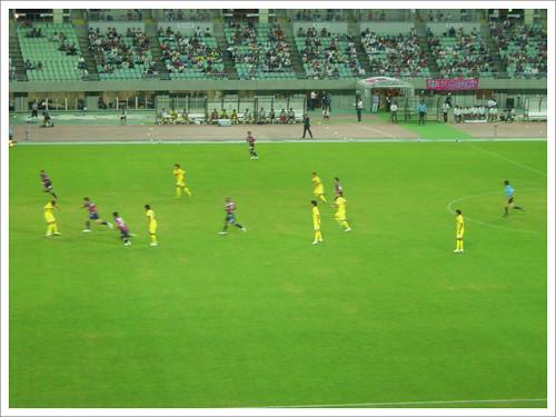 試合中@セレッソ大阪 VS モンテディオ山形_201007