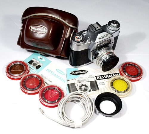 Voigtlander Bessamatic set