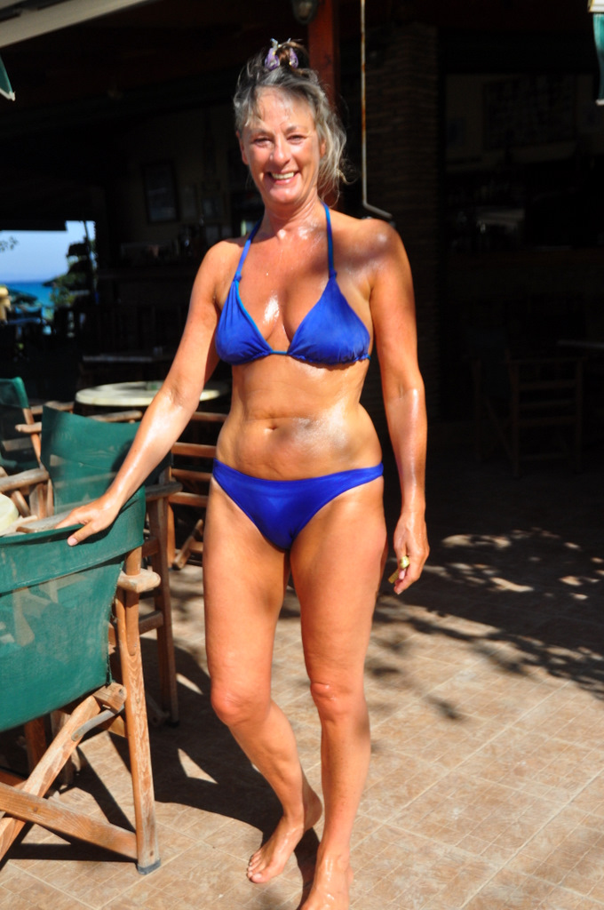 Casually come busty milf bikini beach prompt reply