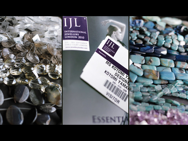 Stones from International Jewellery London