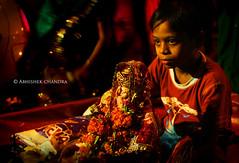 Ganpati Mahotsav - Mumbai (Abhimation) Tags: india festivals mumbai ganpati handi dahi