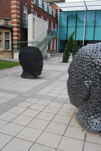 Sculpture at the Business School, University of Hull.