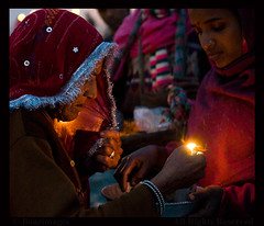 INDIA (BoazImages) Tags: india men water festival river women bath asia indian religion documentary holy bathing hindu hinduism sari ganga ganges mela purification subcontinent kumbh kumbha boazimages