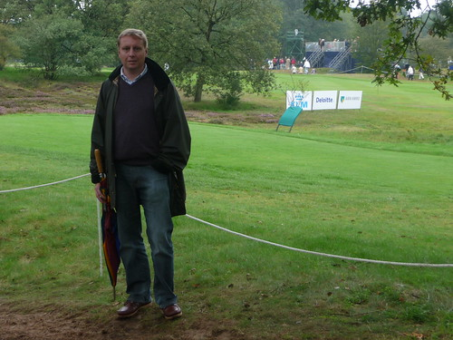 Watching the final round of the KLM Dutch Open