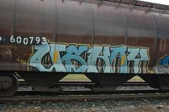 Uskay IEK (A & P Bench) Tags: train bench graffiti pacific stock canadian graff railfan freight rolling freighttrain rollingstock bsm fr8 kwest boxstars benching freightgraffiti freighttraingraffiti