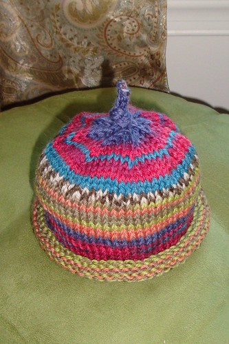 Multicolored Knit Hat 1