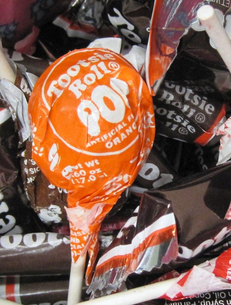 orange ~ Tootsie Roll Pop
