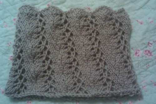 Easy Lace Cowl Knitting Pattern : Easy Lace Knit Cowl Apps Directories