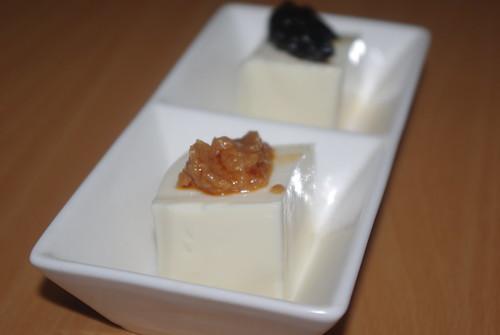 豆腐2種のせ