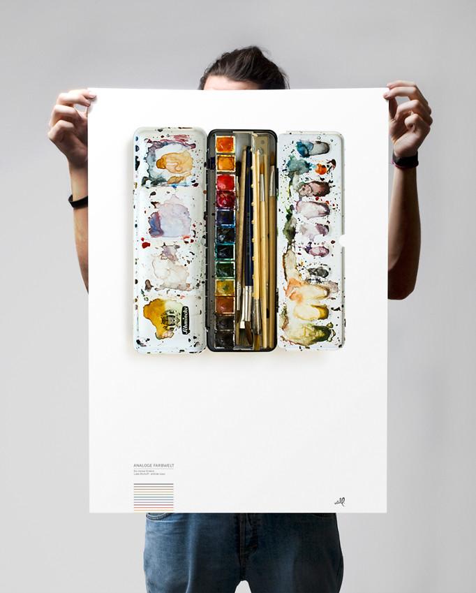 farbwelt poster - demo