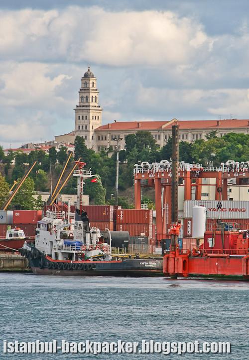 Istanbul Docks and Selimiye Barracks