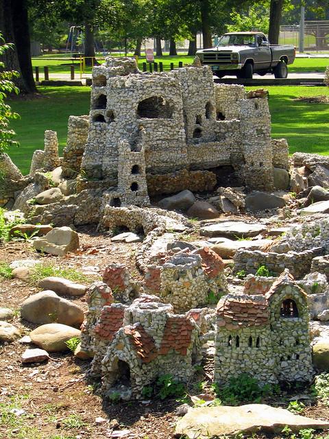 Newport's miniature village