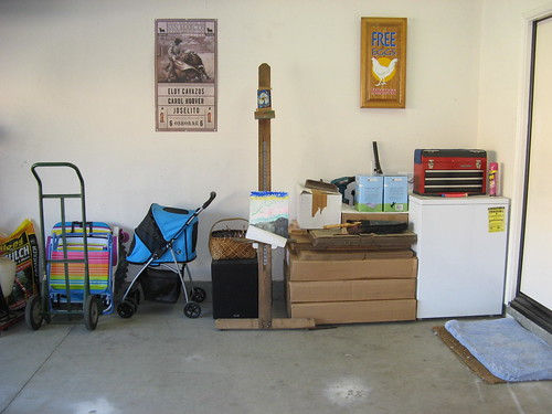 Fixing up garage Art studio