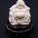 "<b>Buddha</b><br/> Unknown, Chinese (ivory, ca. 1978) LFAC#2008:01:44<a href=""http://farm5.static.flickr.com/4129/4996995486_d31492998c_o.jpg"" title=""High res"">∝</a>"